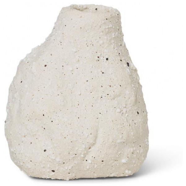 Vulca Mini Vas Off - White Stone Ferm Living från Inget märke