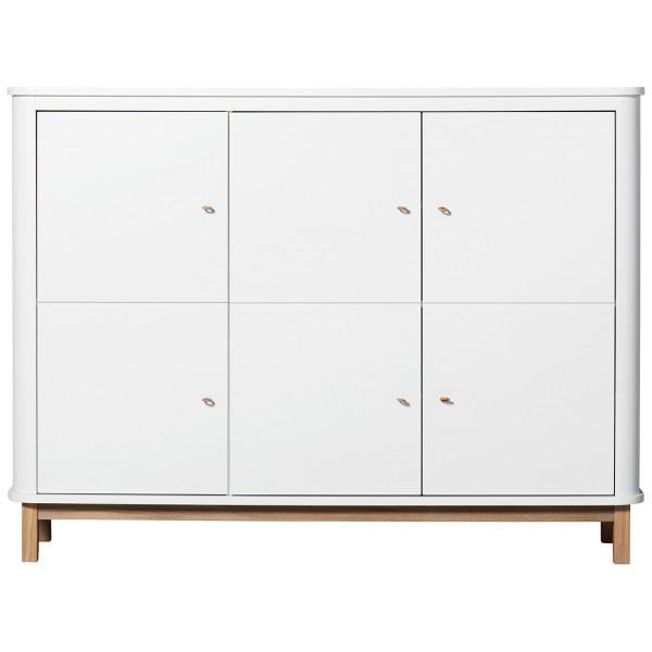 Wood Multiskåp Garderob Ek Oliver Furniture från Inget märke