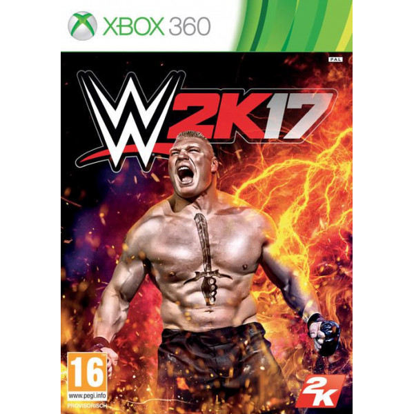 2K Games Tv-Spel Wwe 2K17 från 2k games