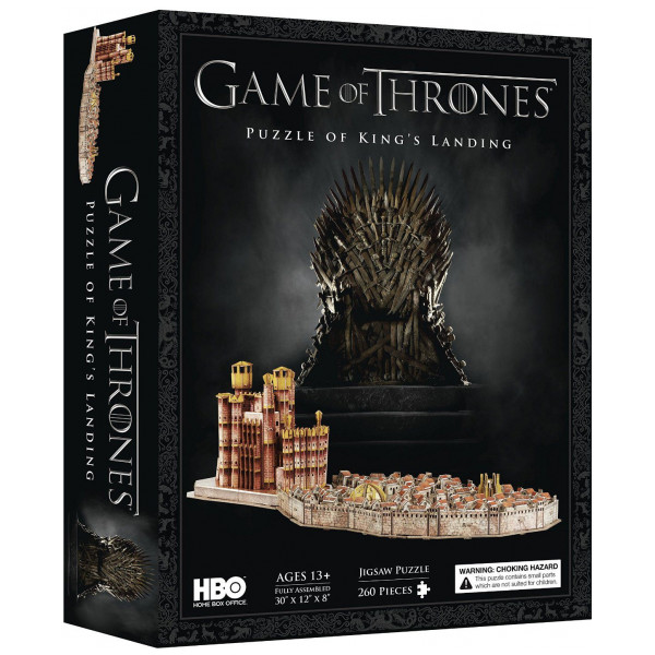 4D Cityscape Pussel Puzzle - Game Of Thrones - Kings Landing från 4d cityscape