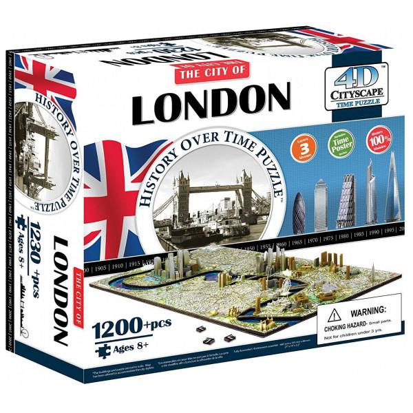 4D Cityscape Pussel Time Puzzle - London från 4d cityscape