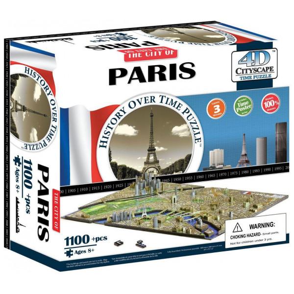 4D Cityscape Pussel Time Puzzle - Paris från 4d cityscape