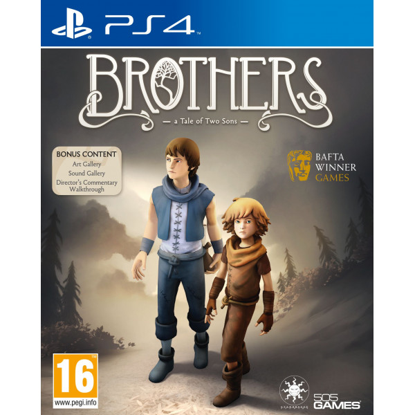 505 Gamestreet Tv-Spel Brothers - A Tale Of Two Sons från 505 gamestreet