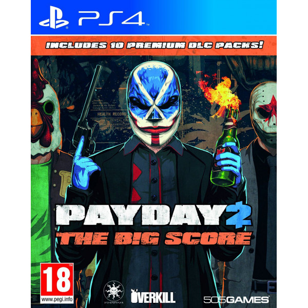 505 Gamestreet Tv-Spel Payday 2 The Big Score från 505 gamestreet