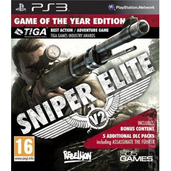 505 Gamestreet Tv-Spel Sniper Elite V2 Game Of The Year Edition från 505 gamestreet