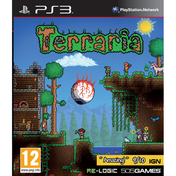 505 Gamestreet Tv-Spel Terraria från 505 gamestreet