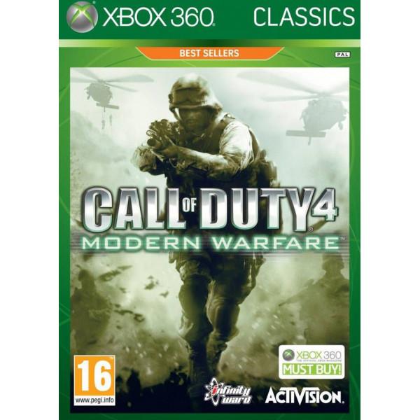 Activision Tv-Spel Call Of Duty 4 Modern Warfare Uk Classics från Activision