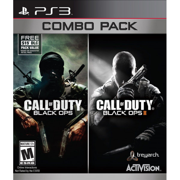 Activision Tv-Spel Call Of Duty Black Ops Ii 2 Double Pack från Activision