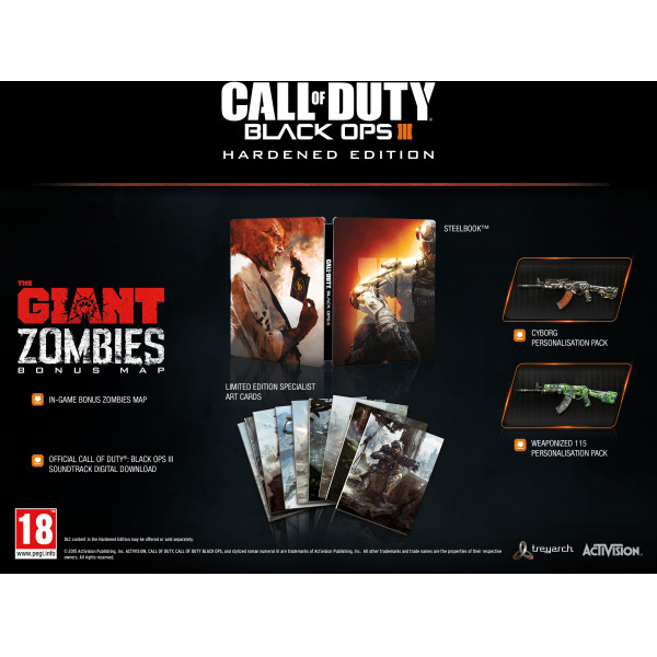 Activision Tv-Spel Call Of Duty Black Ops Iii 3 - Hardened Edition från Activision