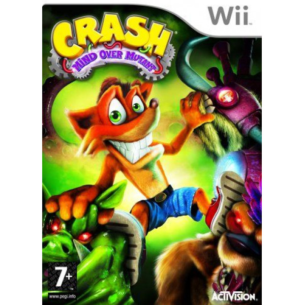Activision Tv-Spel Crash Bandicoot Mind Over Mutant från Activision
