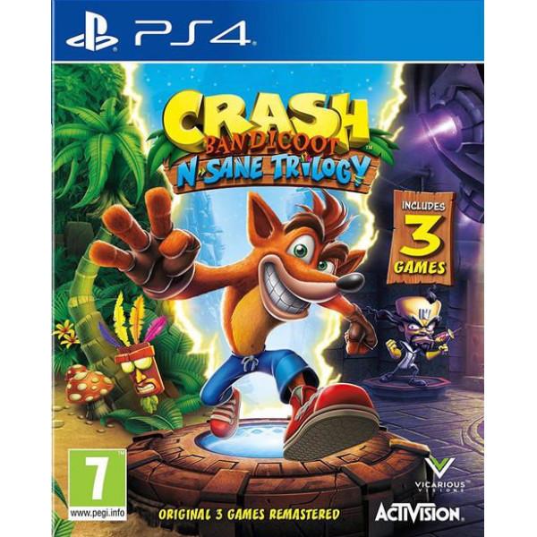 Activision Tv-Spel Crash Bandicoot N Sane Trilogy från Activision