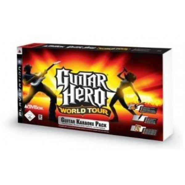 Activision Tv-Spel Guitar Hero World Tour Karaoke Bundle från Activision