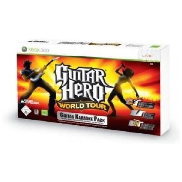 Activision Tv-Spel Guitar Hero World Tour Karaoke Bundle från Activision