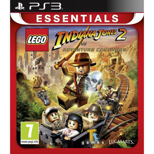 Activision Tv-Spel Lego Indiana Jones 2 The Adventure Continues Essentials från Activision