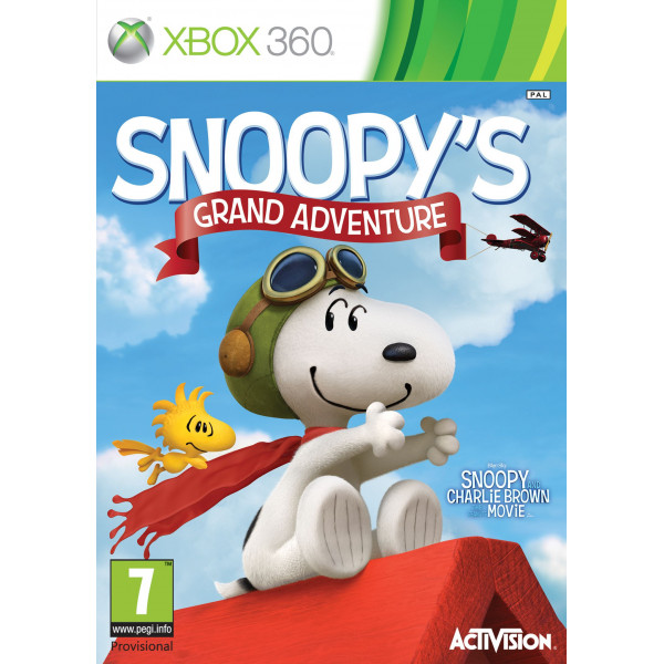 Activision Tv-Spel The Peanut Movie Snoopy's Grand Adventure från Activision