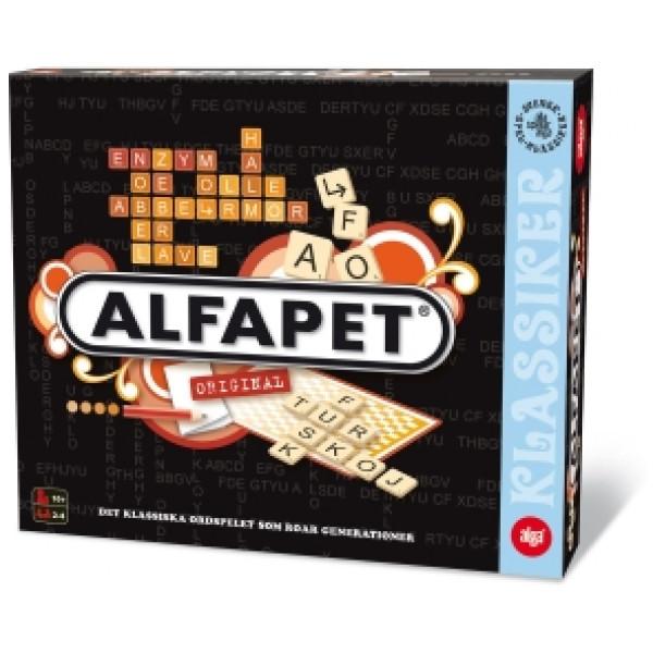 Alga Sällskapsspel Alfapet från Alga