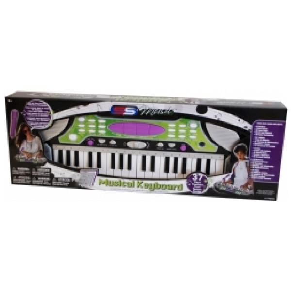 Alrico Musikleksak Keyboard 37 Tangenter Med Mic från Alrico