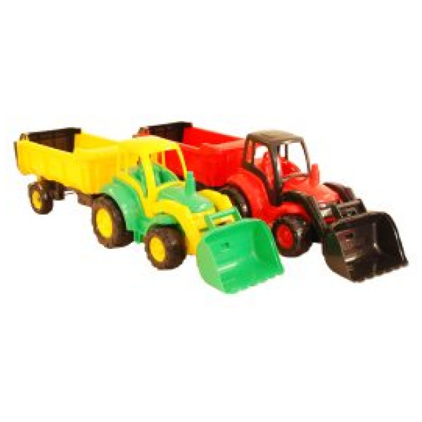 Alrico Uteleksak Traktor 46Cm Med Vagn från Alrico