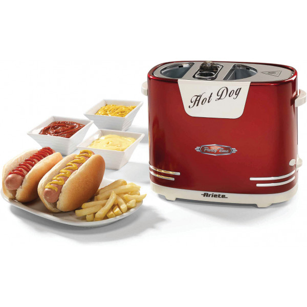 Ariete Kalas Hot Dog Maker Model 186 Red från Ariete