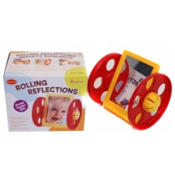 Babyleksak Babyspegel Med Hjul från Inget märke