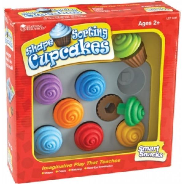 Babyleksak Smart Snacks Cupcakes från Inget märke