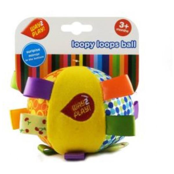 Babyleksak Way2Play Mjuk Aktivitetsboll från Inget märke