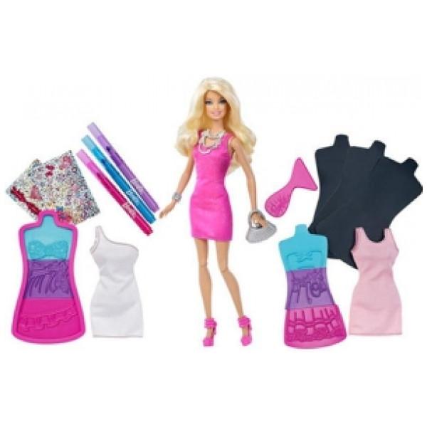 Barbie Docka Fashion Plates från Barbie