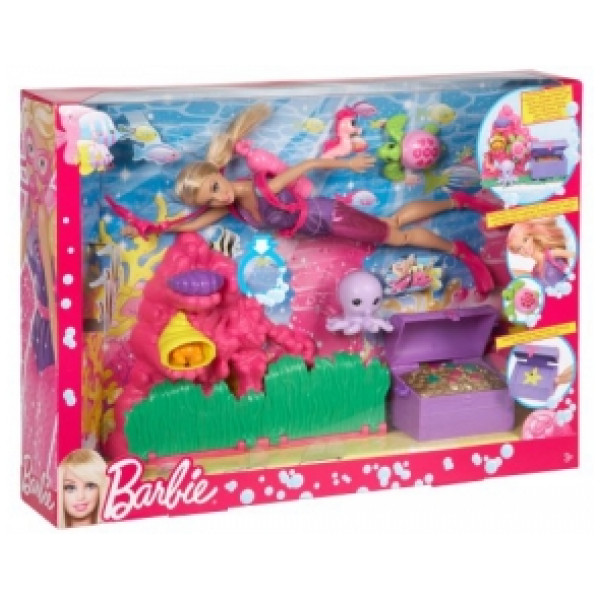 Barbie Docka Ocean Treasure Explorer från Barbie