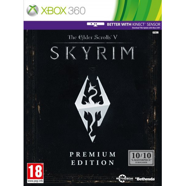 Bethesda Tv-Spel Elder Scrolls V Skyrim Premium Edition från Bethesda