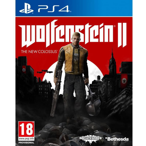 Bethesda Tv-Spel Wolfenstein 2 The New Colossus från Bethesda