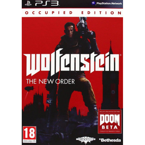 Bethesda Tv-Spel Wolfenstein The New Order Occupied Edition från Bethesda