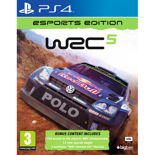 Big Ben Interactive Tv-Spel Wrc 5 - Esport Edition Nordic från Big ben interactive