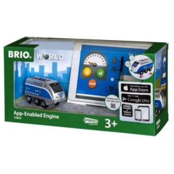 Brio 0-Brio Lok Med App-Styrning från Brio