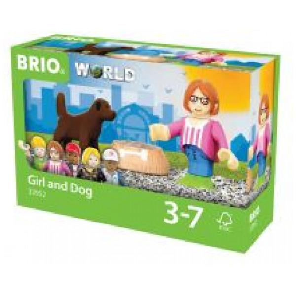 Brio 0-Brio World - Figur Med Hund från Brio