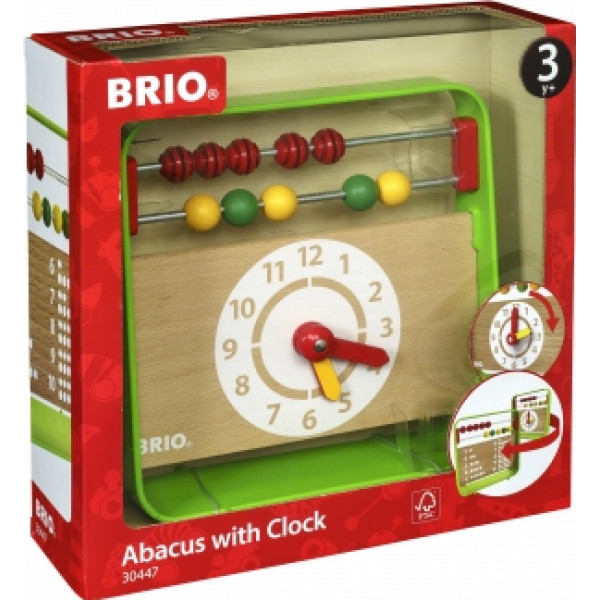 Brio Babyleksak Abacus With Clock från Brio