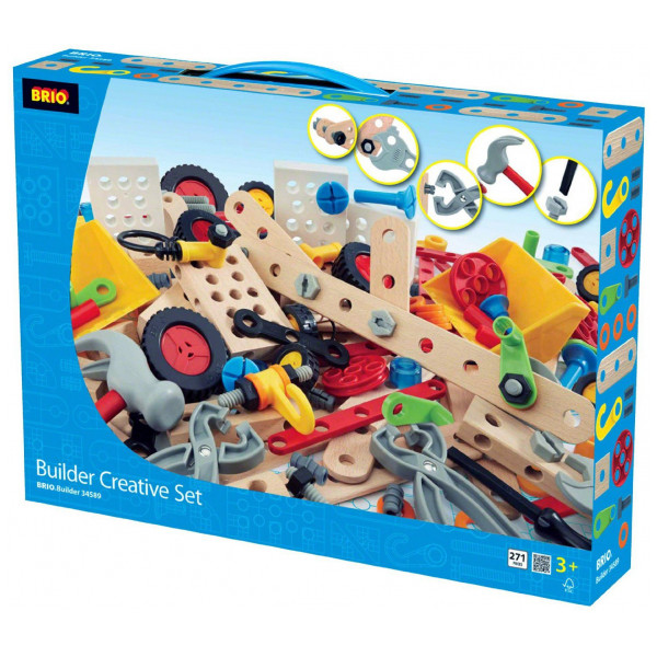 Brio Lego Builder Creative Set - 270 Pc 34589 från Brio