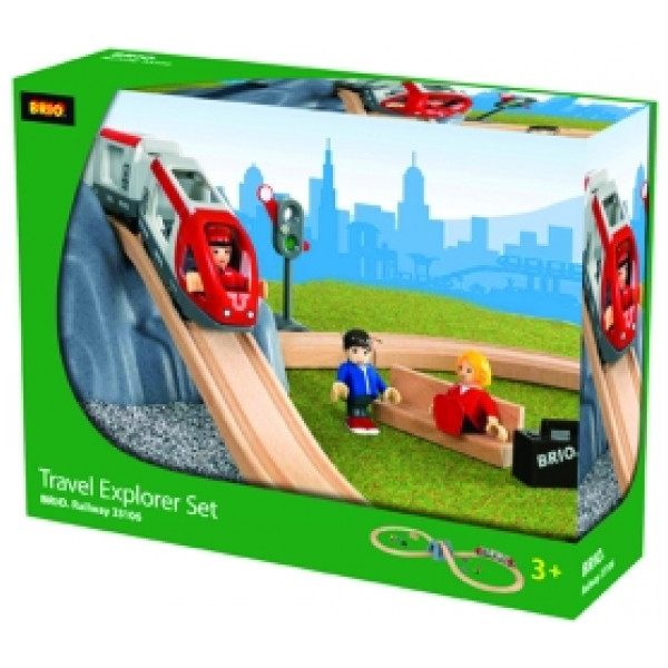 Brio Tåg Travel Explorer Set från Brio