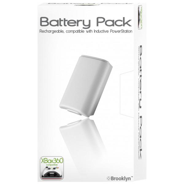 Brooklyn Tv-Spel Battery Pack For Xbox 360 Inductive från Brooklyn