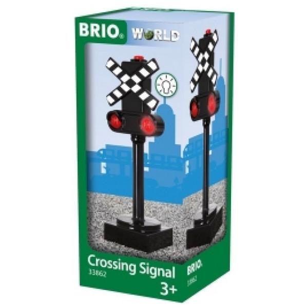 Bruder Tåg Brio - Crossing Signal från Bruder