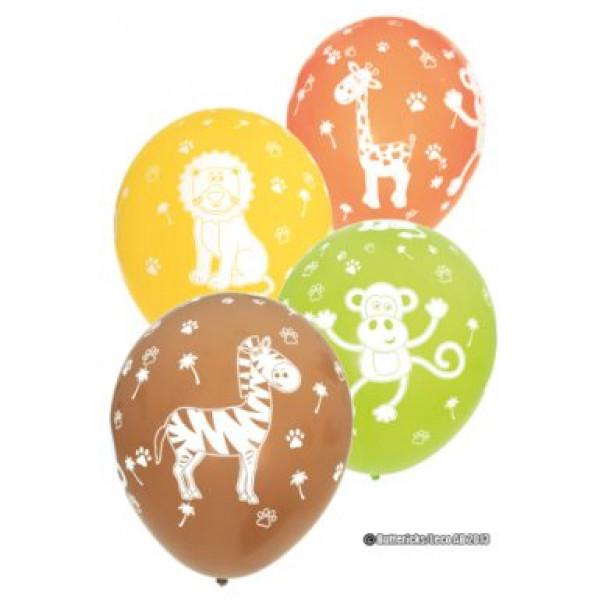 Buttericks Ballong Ballonger Djungelns Djur 6 St från Buttericks