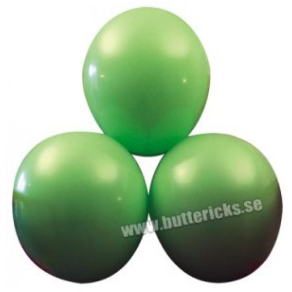 Buttericks Ballong Ballonger Limegröna 25St från Buttericks