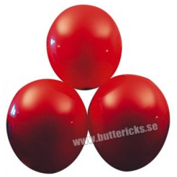 Buttericks Ballong Ballonger Röda 25St från Buttericks