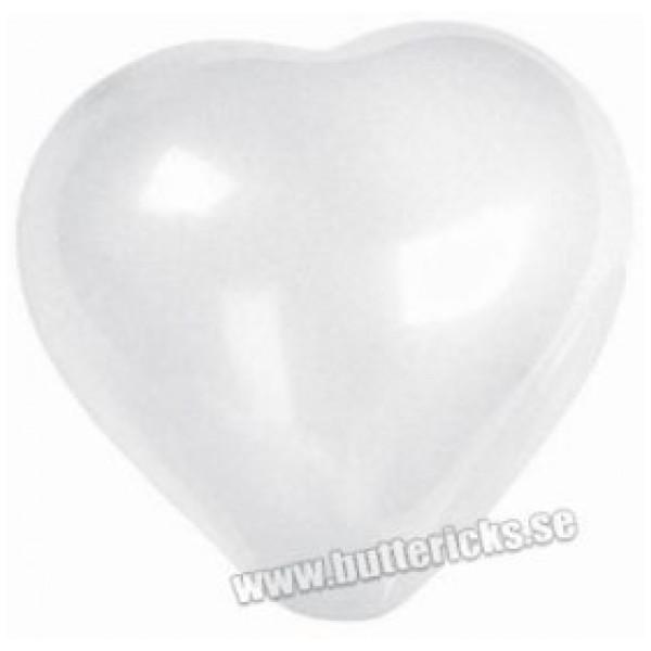 Buttericks Ballong Hjärta Vit 6St från Buttericks