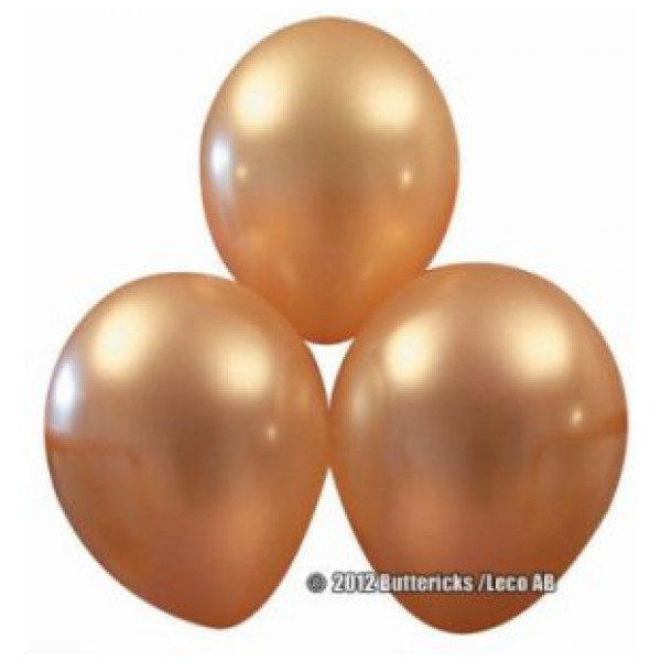 Buttericks Ballong Metallic Guld 10St från Buttericks