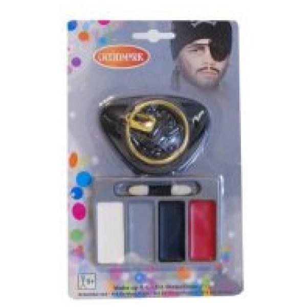 Buttericks Maskerad Ansiktsmåla Pirat från Buttericks