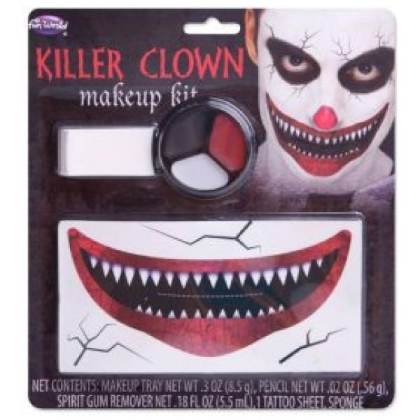 Buttericks Maskerad Killer Clown Sminkset från Buttericks