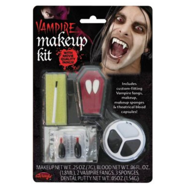 Buttericks Maskerad Vampyr Makeup Kit Med Tänder från Buttericks