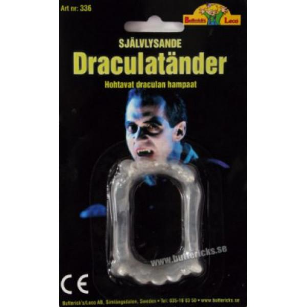 Buttericks Skämtartikel Draculatänder Självlys från Buttericks