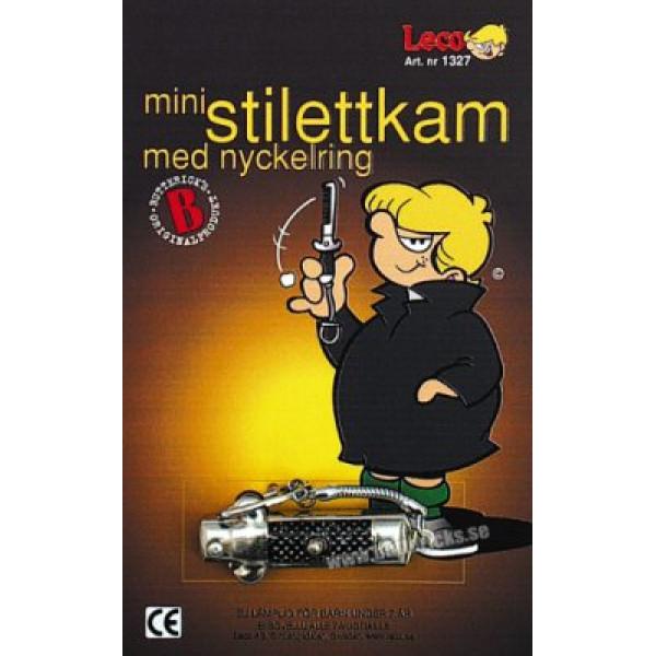 Buttericks Skämtartikel Nyckelring Stilettkam Mini från Buttericks