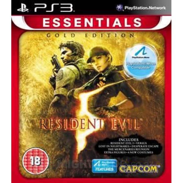 Capcom Tv-Spel Resident Evil 5 Gold Edition Essentials från Capcom